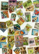 Burundi Large Collection / Lot ~ 500 plus stamps 100's of Different ~ USED / CTO