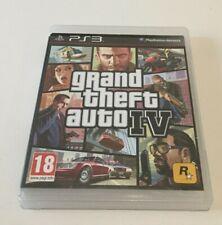 Grand theft auto GTA IV 4 Sur Sony Playsation PS3 - Version Fr