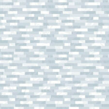 Blue Gray Marble Linear Mosaic Tile Self Adhesive Vinyl Contact Paper Peel Stick