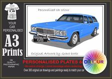 77-80 HZ PREMIER WAGON A3 ORIGINAL PERSONALISED PRINT POSTER CLASSIC RETRO CAR