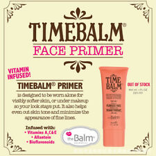 30ml The Balm Face Primer Base Visage Makeup Cream Concealer Foundation Kit Tool