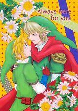 Legend of Zelda The BL Doujinshi Comic Link x Link Always here for you