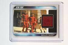 2009 Star Trek Movie Costume Card Male Cadet CC10