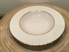 "ONE (1) LENOX TEMPLE COLLECTION CITATION GOLD 8.5"" SOUP PASTA SALAD BOWL FLUTED"