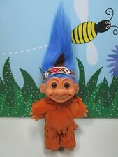 "NATIVE AMERICAN INDIAN - 5"" Russ Troll Doll - NEW IN ORIGINAL BAG w/FLAW"