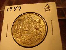 1949 - Canada half dollar - Silver - Canadian 50 cent