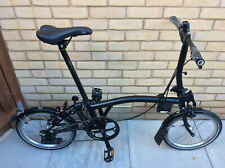 Brompton S2L Black Edition 2 Speed Folding Bike Worldwide Shipping