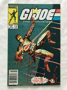 G.I.JOE #21 comic book from Marvel - the silent issue from 1984 - reader copy