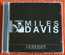 MILES DAVIS - KIND OF BLUE  Legends Original Recordings  CD  jazz  SEALED