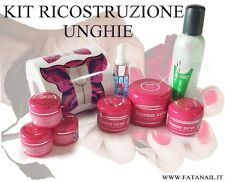 kit ricostruzione unghie gel FRENC COVER GEL COLOR CLEANER SUPER   offerta