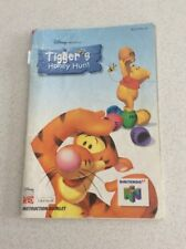 Tigers Honey Hunt Nintendo 64 Game Manual Only Instruction Booklet N64