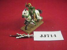 Fuera de imprenta Warhammer Bretonnian que optimizan Caballero Metal (caballo de plástico) ref JJ714