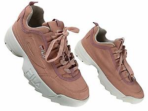 FILA Damen Chunky Sneaker Schnürsenkel Turnschuhe EUR 38 #QA2 56