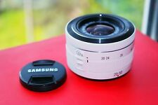Samsung NX 20-50mm f/3.5-5.6 ED II White, AVIA Shipping w/track number