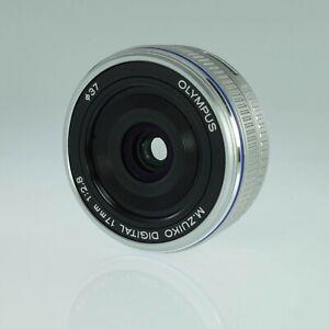 OLYMPUS M.ZUIKO DIGITAL 17mm f2.8 Lens