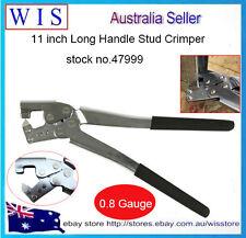 11inch Drywall Metal Steel Channel Stud Track Crimping Stud Joiner Crimper Plier