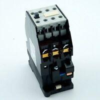 3TB4222 35mm DIN Rail Mount 3 Pole 2NO 2NC AC 380V Contactor Ui660V