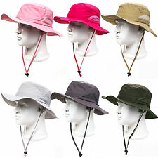 Bucket Hat Boonie Outdoor Wide Brim Sun Men Women Caps Military Fishing Hiking