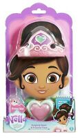 Nella the Princess Knightly Heart Pendant and Tiara Ages 3+ Toy Doll Knight  Fun