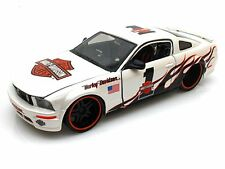 FORD MUSTANG GT 1/24 Diecast Model Car HARLEY DAVIDSON Metal Models 2006