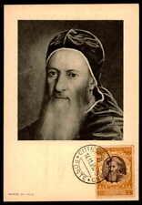 Vatican MK 1950 Concilio Trento Concile maximum carta carte MAXIMUM CARD MC cm dc47