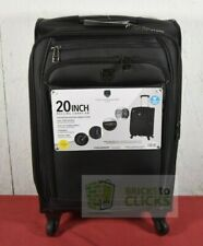 """Travelers Club TPRC 20"""" Rolling Expandable Carry-on 4-Wheel Spinner"""
