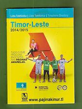 #XX. TIMOR-LESTE, EAST TIMOR, 2014/2015 PHONEBOOK