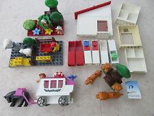 LEGO DUPLO Anhänger Hochzeitskutsche Kutsche Tiere Küche Gebäudeteile  #17