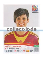 Panini Frauen WM World Cup 2015  - Sticker 381 - Marta Corredera