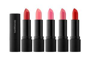 BareMinerals Statement Luxe Shine Lipstick 0.12oz New InBox (Choose Your Shade!)