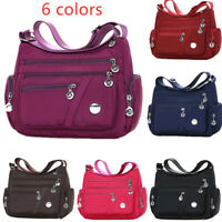 6 Colors Waterproof Nylon Bag Fashion Women Single Shoulder Bag Crossbody BagYAN