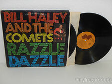 BILL HALEY & THE COMETS Razzle Dazzle 2-LP Janus Records JZ2S 7003 VG+