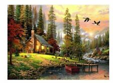 Classical Amazing Nature Propylene Paint by Numbers Kits For Adults DIY Paints