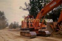 FX20 KODACHROME 1960s 35MM SLIDE AMERICANA KOEHRING BACKHOE Construction ROAD