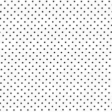 Michael Miller PINHEAD Polka Dots BLACK 100% COTTON FQ FAT QUARTER CX5514-EBONY