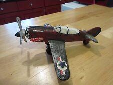 WW2 Die Cast P-40 P40 P 40 Warhawk Airplane War Hawk Propeller Plane