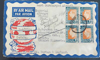 1937 Johannesburg South Africa airmail Cover To Toronto Canada imperial flying b