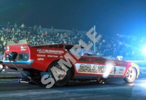 Sien Lankford Brand-X Mustang Funny Car Drag Racing 13x19 Poster Photo 134