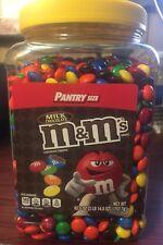 M&M Milk Chocolate PLAIN 62 ounces BULK TUB Candy Shell M&M's NEW M&MS 3.5 lbs +