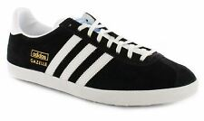 Adidas Para hombre Gazelle OG con cordones Casual Clásico Zapatillas Retro Zapatillas Negro