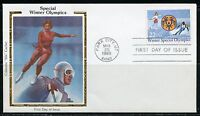 UNITED STATES COLORANO 1985 SPECIAL WINTER OLYMPICS  FIRST DAY COVER