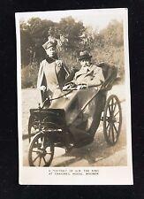 RP Postcard H.M. The King at Craigweil House Bognor Bathchair Unposted  - PCBOX1