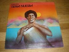 TIERRA NUESTRA grupo LP Record - Sealed