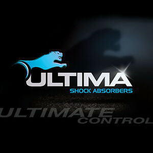 ULTIMA FRONT SHOCK ABSORBERS STRUT for FORD LASER KN KQ 02/99-09/2002