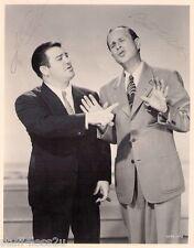 Bud Abbott & Lou Costello Signed 8x10 RePrint Auto