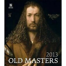 OLD MASTERS CALENDAR2013  45x52CM WITH BEAUTIFUL MASTERPIECE DRAWINGS