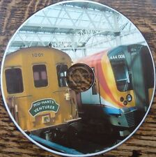 Vintage railway Trains steam diesel stations crashes research history 2400+ CD