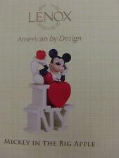 Lenox Disney Showcase Collection Mickey In The Big Apple I Love NY Figurine COA
