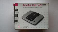 T Com Teledat 430 LAN Breitbandmodem T DSL OVP Bilder anschauen!!!