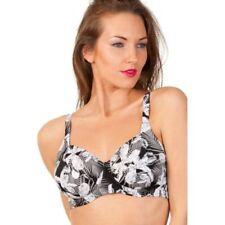 Nylon V Neck Plus Size Swimwear for Women